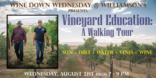 Wine Down Wednesday - Vineyard Education: A Walking Tour