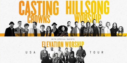 Granite United Group Tickets - Hillsong Worship | Casting Crowns | Elevation Worship
