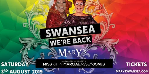 Mary's Swansea 3rd August - 18+