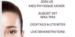 Med Physique Mixer with Live Demos