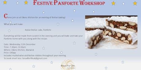 Festive Panforte cake workshop tickets