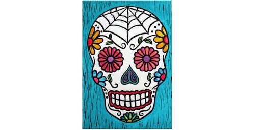 Paint Party at Chihuahua Charlie's Cantina (Arlington) I 10.26.19