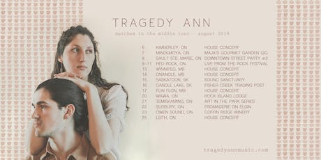 Martine & Tragedy Ann | La Fromagerie | Sudbury ON tickets