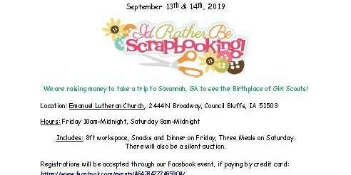 Girl Scout Troop 40406 Fundraiser Crop