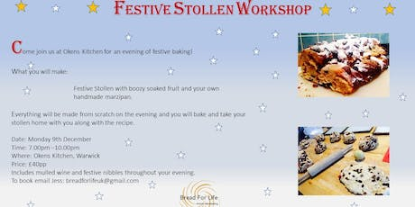 Festive Stollen Workshop tickets