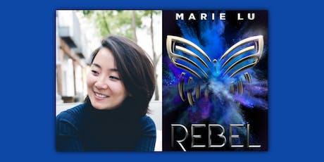 Marie Lu, REBEL tickets