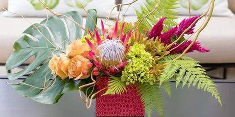 Summer Tropical Fresh Floral Workshop with Alison Whiteman tickets