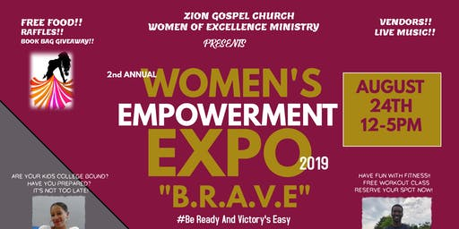 Zion Gospel Church Women's Empowerment Expo 2019