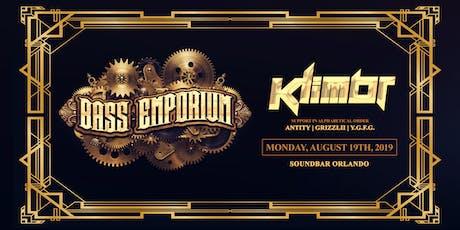 The Bass Emporium Presents Klimbr tickets