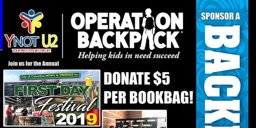 First Day Festival: Operation Backpack 2019