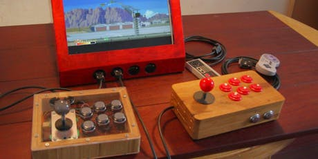 Build Your Own Arcade With Raspberry Pi! tickets