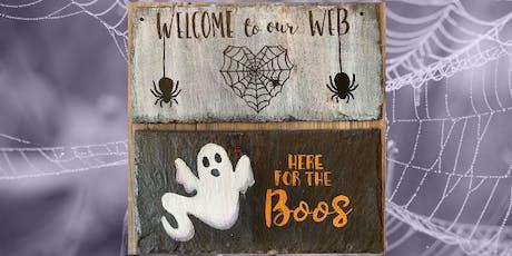 Spooky Slate Paint Night tickets