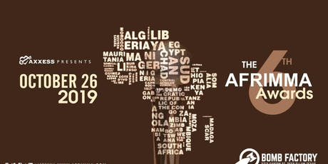 AFRIMMA Fashion Show Vendor Booth tickets