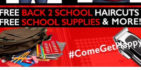 She's Happy Foundation (Houston) BACK TO SCHOOL GIVEAWAY @ShesHappyHair tickets