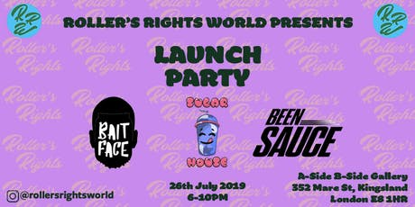 RollersRightsWorld: Launch tickets