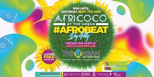 Africoco @ Urban #Afrobeat Day Party