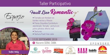 Taller con Sofía VELIZ: FAULT LINE ROMANTIC entradas