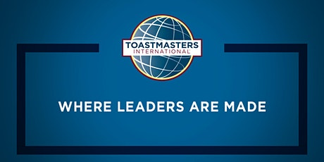 Visit University City Toastmasters to improve on your public speaking skills  tickets