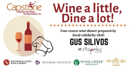 12th Annual Wine a little, Dine a lot! tickets