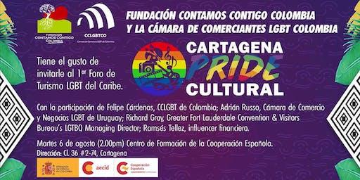 1er FORO DE TURISMO LGBT+ DEL CARIBE - CARTAGENA PRIDE 2019