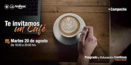 Café Informativo - Maestrías en Administración Pública y Defensa en Administrativa y Fiscal boletos