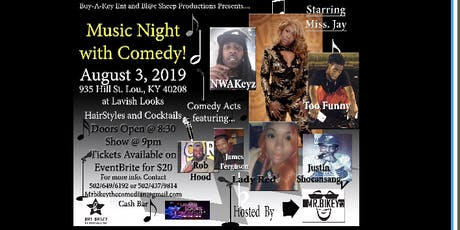 Music nite with Comedy tickets