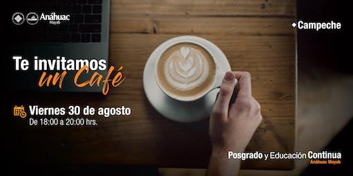 Café Informativo - Maestrías en Administración Pública y Defensa en Administrativa y Fiscal - Campeche