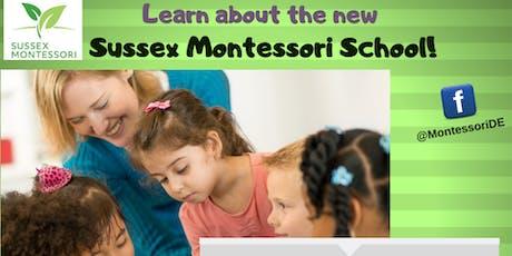 Sussex Montessori School Public Information Session - BRIDGEVILLE LIBRARY tickets