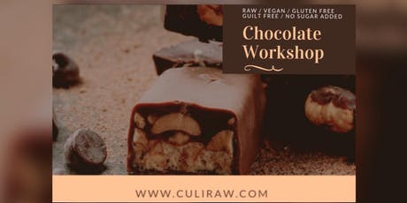 CHOCOLATE WORKSHOP / RAW / VEGAN tickets