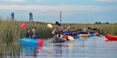 Hackensack Riverkeeper's High Tide Exploration Guided Paddle  9/1/19