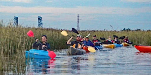 Hackensack Riverkeeper's Birding & Wildlife Watch Guided Paddle 8/25/19