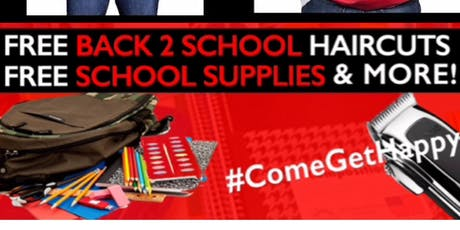 She's Happy Foundation (Detroit) BACK TO SCHOOL GIVEAWAY  tickets