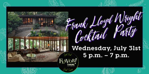 Frank Lloyd Wright Cocktail Party