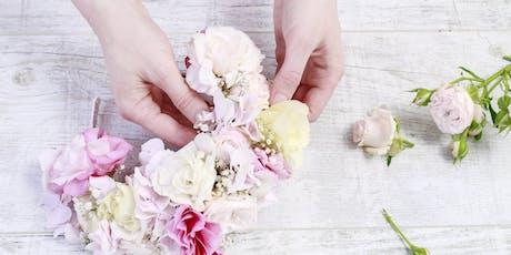 Get Crowned: Floral Wreath Making Workshop tickets