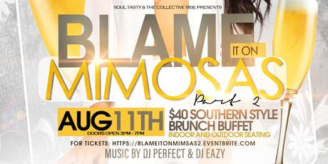 Blame it on the mimosa's part 2 tickets