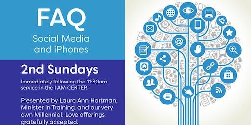 FAQ Social Media, iPhones & iPads