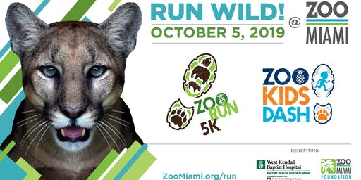 2019 ZooRun5K & ZooKidsDash at Zoo Miami