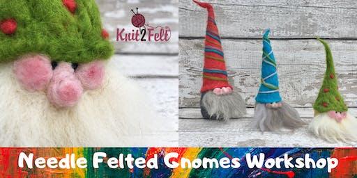 Easy Needle Felting Workshop - Decorative Gnomes