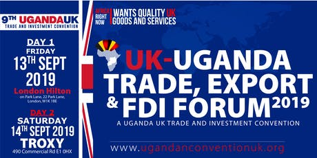 UGANDA-UK TRADE & INVESTMENT SUMMIT | FINTECH UGANDA tickets