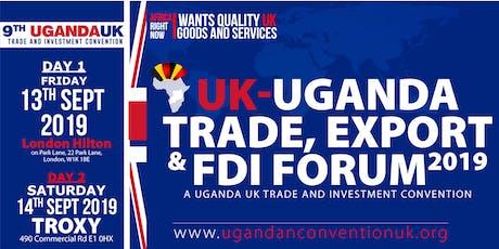 UGANDA-UK TRADE & INVESTMENT SUMMIT | FINTECH UGANDA tickets