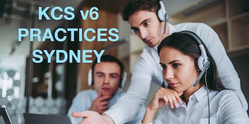 KCS v6 Practices Course - August 15-16  SYDNEY AUSTRALIA