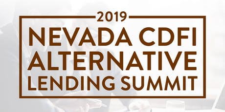 2019 Nevada CDFI Summit tickets