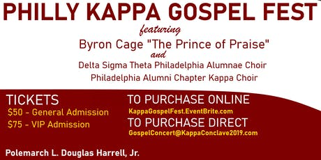 Philly Kappa Gospel Fest ft. Byron Cage tickets