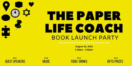 The Paper Life Coach Book Launch Party tickets