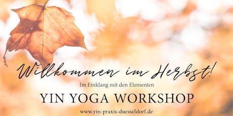 YIN YOGA Workshop - Willkommen im Herbst Tickets