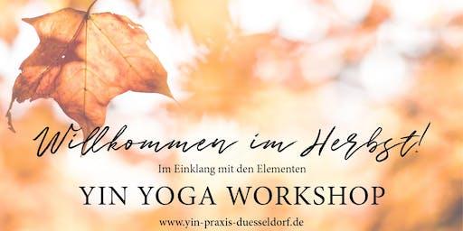 YIN YOGA Workshop - Willkommen im Herbst
