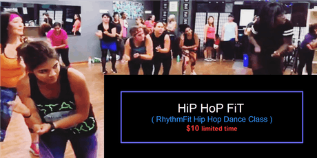 Hip Hop Fit	  (Mixed Level Hip Hop Dance Fitness Class) tickets