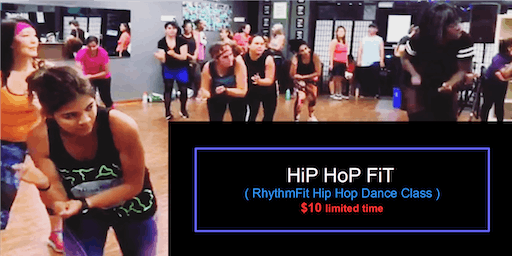 Hip Hop Fit      (Mixed Level Hip Hop Dance Fitness Class)