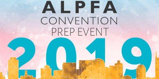 ALPFA Convention Prep