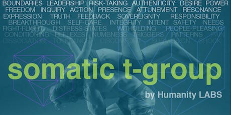 Introduction to Somatic T-Group 8/4/19 tickets